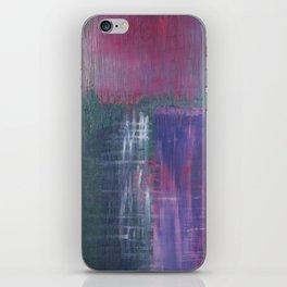 the pink window iPhone Skin