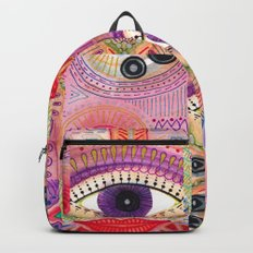 colorful words of a poem Backpack