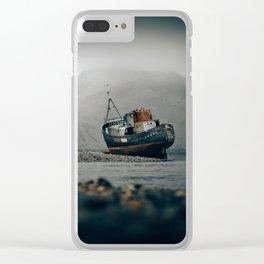 Shipwreck - Scotland -  Fine Art Landscape Photograph Clear iPhone Case