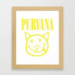 Purvana Framed Art Print
