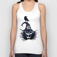 witch Tank Tops featuring witch by Erdogan Ulker