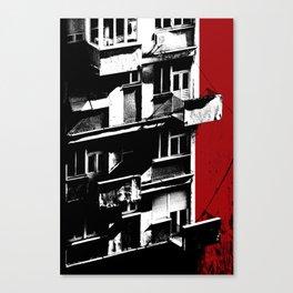 The Outstanding Balcony in Belgrade Canvas Print