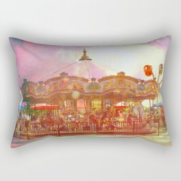 Merry Go Round Rectangular Pillow