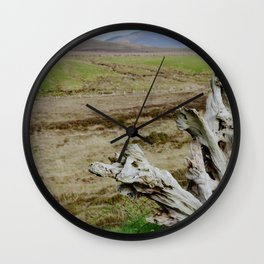 Rooted in Bogs Wall Clock