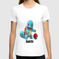 squirtle T-shirts featuring Squirtle by Yamilett Pimentel