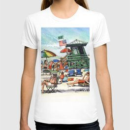 February on Siesta Key Beach T-shirt