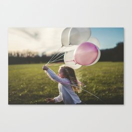 children are the keys of paradise. Canvas Print