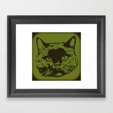 cathead 2 Framed Art Print