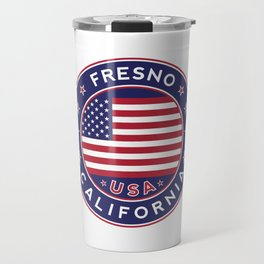 Fresno, California Travel Mug