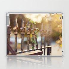 Bokeh and Fleur de Lis Laptop & iPad Skin