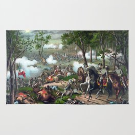 The Battle of Chancellorsville Rug