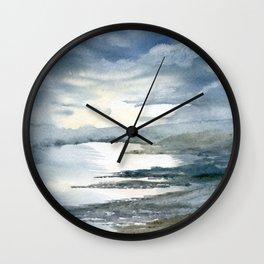 Primordial Calm Wall Clock