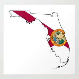 Florida Love! Art Print