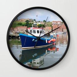 Fishing boat K2 E63 Wall Clock