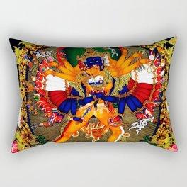 Hindu Kali 12 Rectangular Pillow