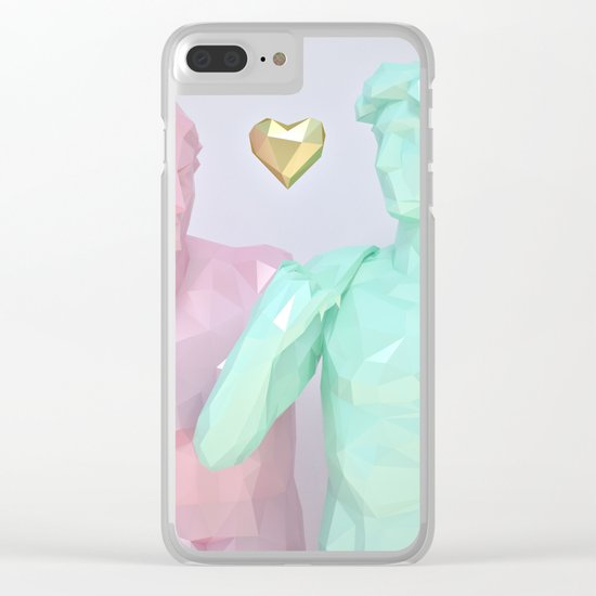Two Lovers Clear iPhone Case