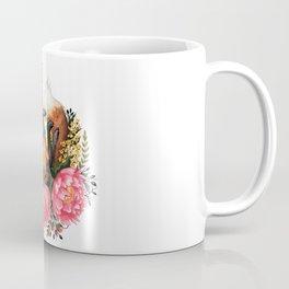 Flora and Fauna Fox Coffee Mug