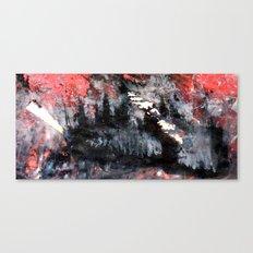 top heavy matchstick Canvas Print