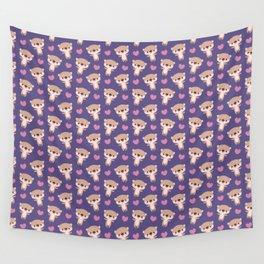 Kawaii otters Wall Tapestry
