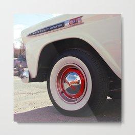 Apache wheel Metal Print