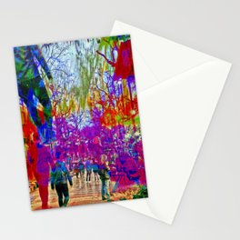 to seem like a unison when instead is not compared Stationery Cards