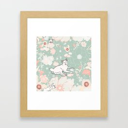 Vintage Momo Wonderland Framed Art Print