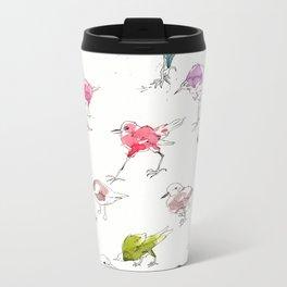 Birds 02 Metal Travel Mug
