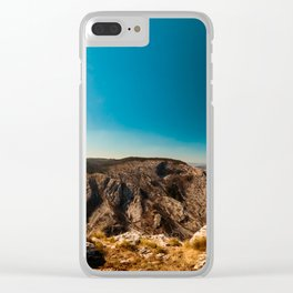 Sunny day in Val Rosandra Clear iPhone Case