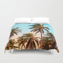 Palms trees. Duvet Cover