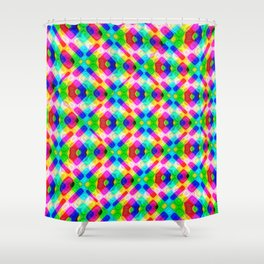 Abstract FF P Shower Curtain