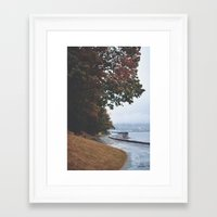 vancouver Framed Art Prints featuring Vancouver by Tasha Marie