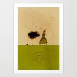 Avatar Kyoshi Art Print