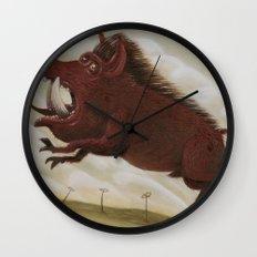 Ave Satani 2 Wall Clock