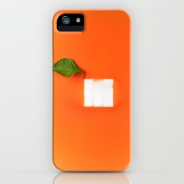 Orange out of the box iPhone Case