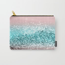 Tropical Summer Vibes Glitter #1 #decor #art #society6 Carry-All Pouch