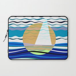 Sailors Geometry of Sailing Abstract Laptop Sleeve