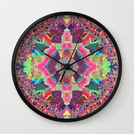 Kaleidodala Wall Clock