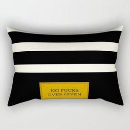Gold Plated Nonsense Rectangular Pillow