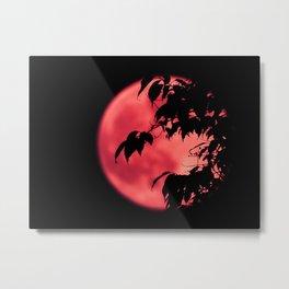 Strawberry Moon Metal Print
