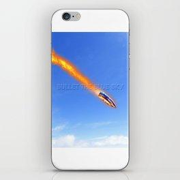 u2's bullet the blue sky iPhone Skin