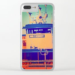 JFK Lives Clear iPhone Case