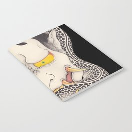 hannya and snake Notebook