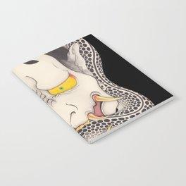 hannya and snake Notebook