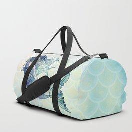 Watercolor Mermaid Duffle Bag
