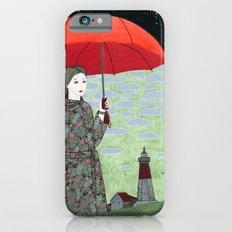 Red Umbrella iPhone 6s Slim Case