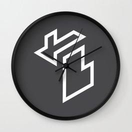 Isometric Michigan Wall Clock