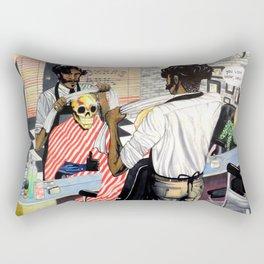 The Barber Shop Rectangular Pillow