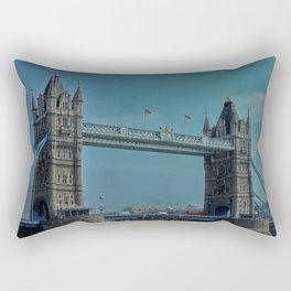 The Tower Bridge in London Rectangular Pillow