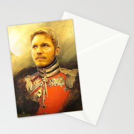 Starlord Guardians Of The Galaxy General Portrait Painting | Fan Art Stationery Cards