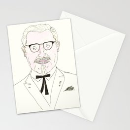 The Colonel Stationery Cards
